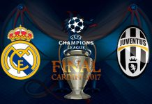 Final Liga Champions, Real Madrid 4-1 Juventus