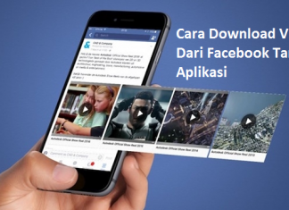 Cara Download Video Dari Facebook Tanpa Aplikasi